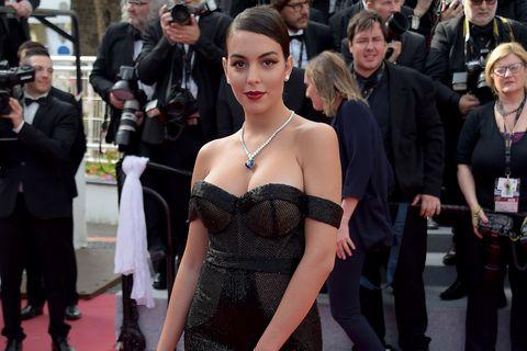 Georgina Rodríguez,Georgina Rodríguez Cannes, érase una vez en Hollywood