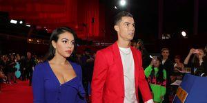 Georgina Rodriguez y Cristiano Ronaldo - MTV EMAs 2019