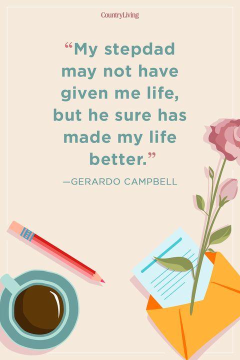 gerardo campbellstep dad quote