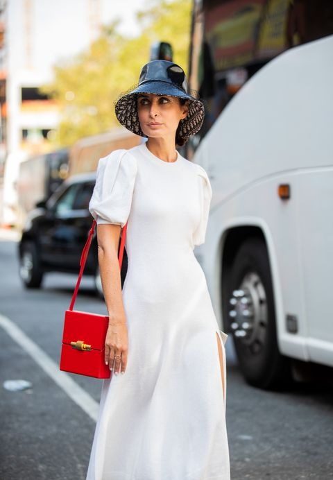 漁夫帽的質感變化型!最修飾臉型的20款「精品漁夫帽」推薦 street style   new york fashion week september 2019   day 5