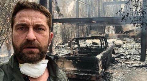 Gerard Butler incendio