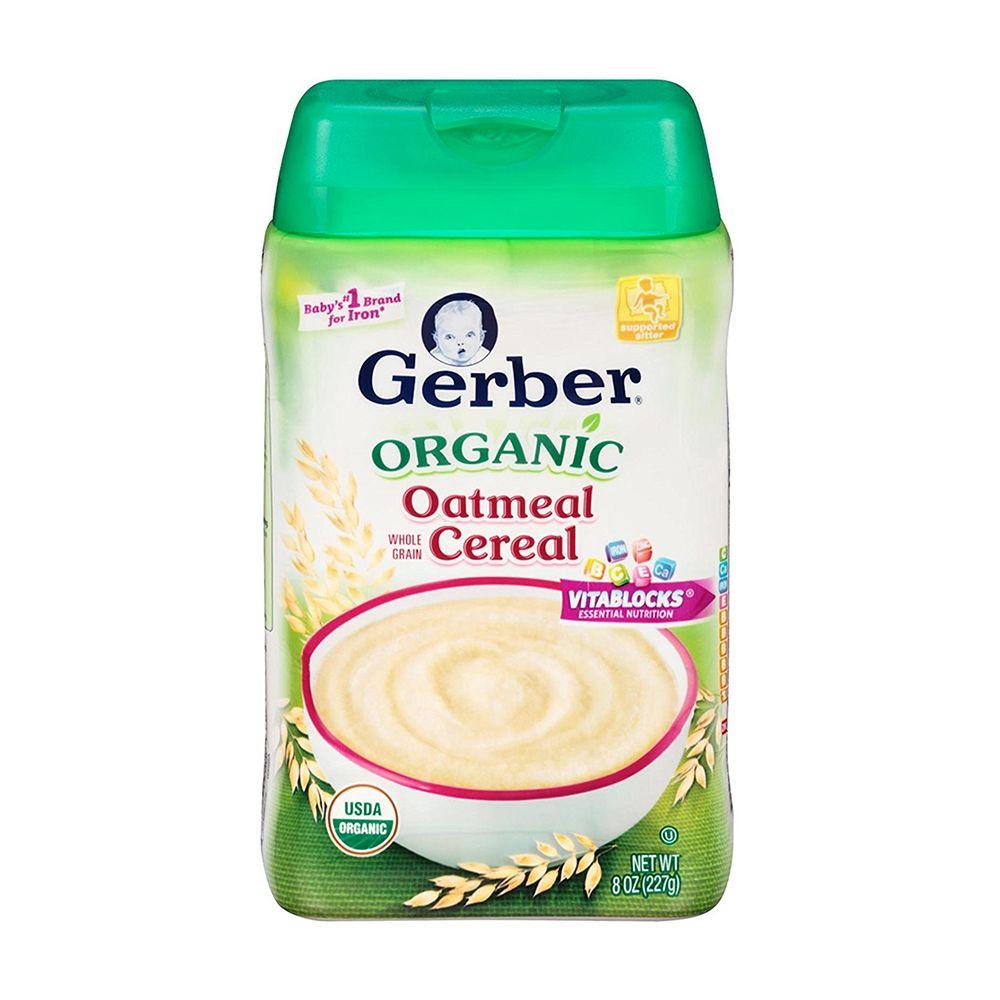 Gerber Organic Oatmeal Baby Cereal