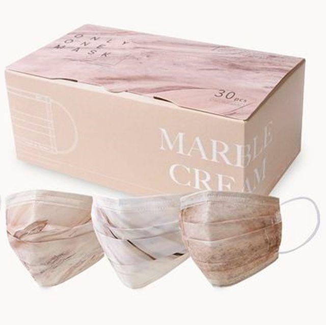 「一心一罩」推出莫蘭迪色系、5款大理石花紋款式,防疫也要當小仙女!3d兒童口罩親膚、透氣、貼合臉型好舒適!