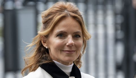 london, england   march 09 geri horner attends the commonwealth day service 2020 at westminster abbey on march 9, 2020 in london, england photo by mark cuthbertuk press via getty images