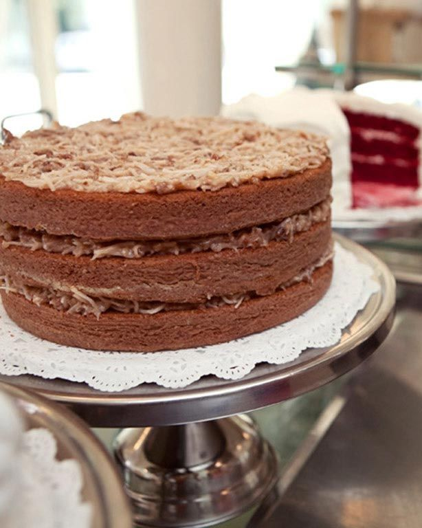 German Chocolate Cake Bakery Nyc