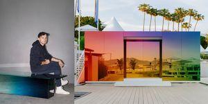 Ontwerper German Ermics en zijn project Where The Rainbow Ends