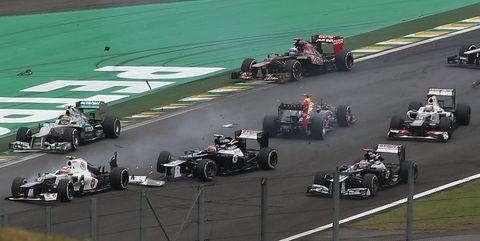 F1 Revive El Gran Premio De Brasil De 2012