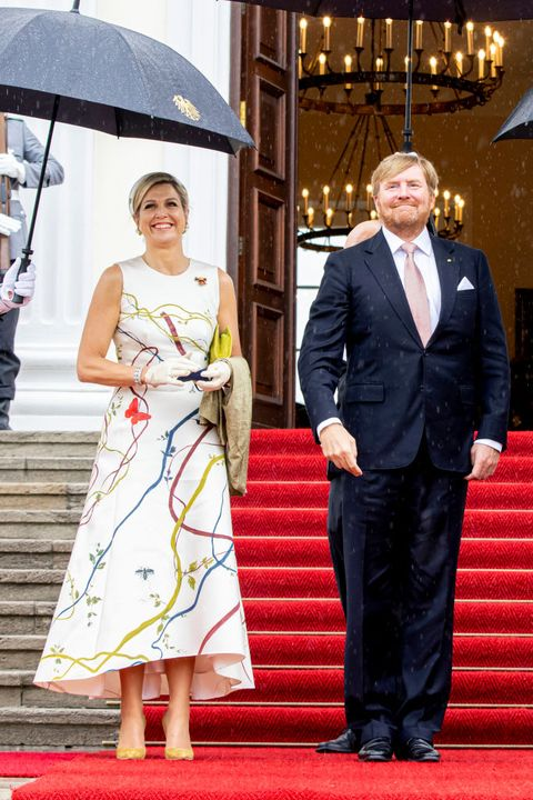 king willem alexander of the netherlands and queen maxima visit berlin day one