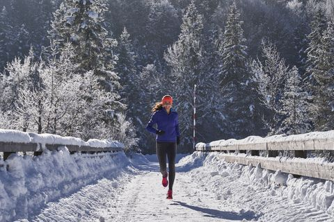 Winter Running Tips For In The Cold Snow And Ice