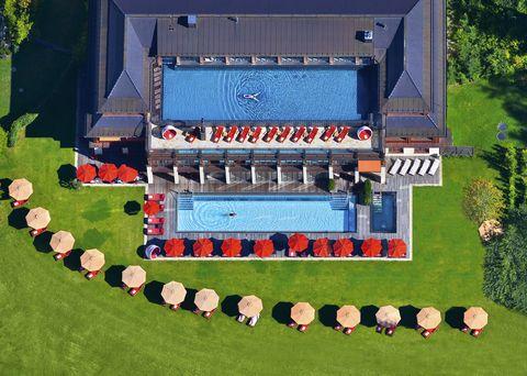 Stadium, Sport venue, Architecture, Grass, Scale model, Landscape, Land lot, House, Games, Building,