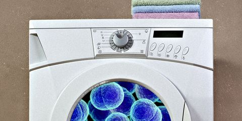 germs in laundry