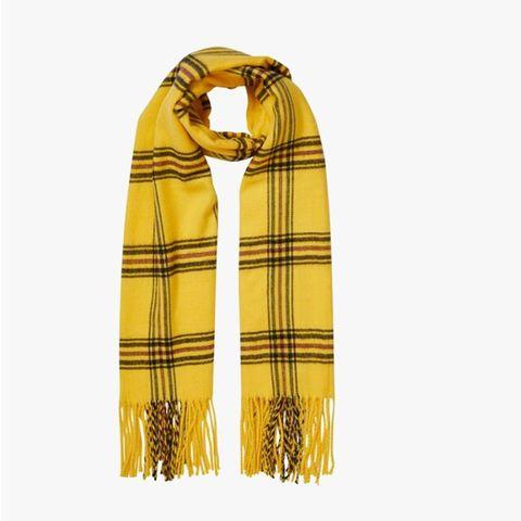 geruite sjaal