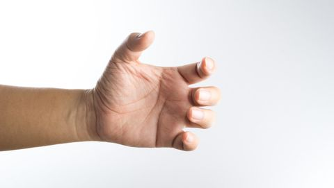 gespierde vingers