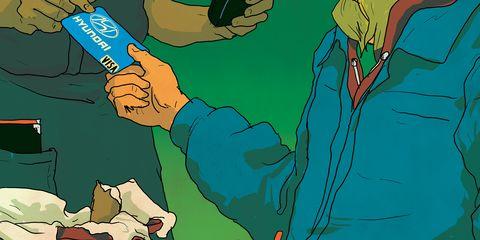 Cartoon, Illustration, Green, Fiction, Arm, Hand, Art, Design, Organism, Adaptation,