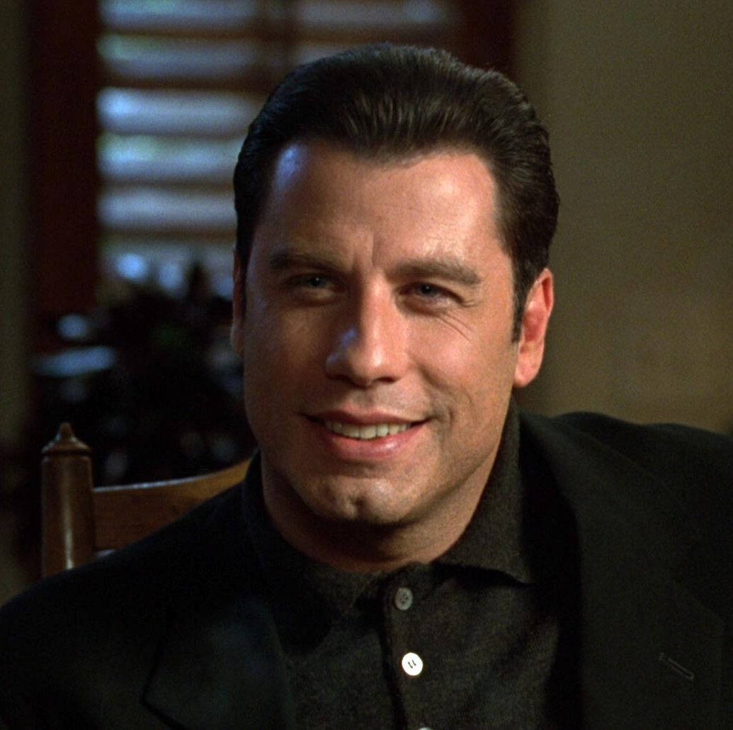 Get Shorty Based on Elmore Leonard's bestselling novel, this black comedy stars John Travolta as a loan shark who travels to Los Angeles to settle a debt from a Hollywood hotshot (played by Gene Hackman). But he quickly learns that Hollywood isn't so much different than the mob, and he quickly pivots into a new profession as a producer.