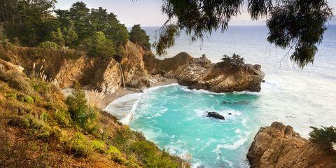 Body of water, Coast, Natural landscape, Coastal and oceanic landforms, Sea, Cove, Shore, Bay, Beach, Headland,