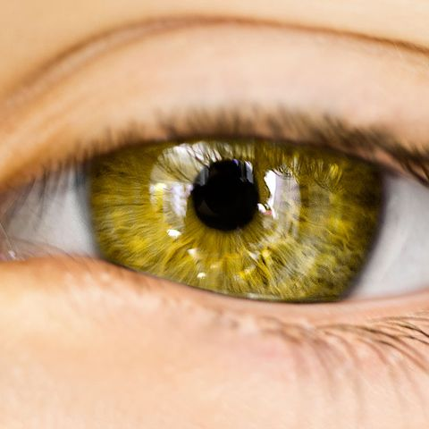 eye color and health