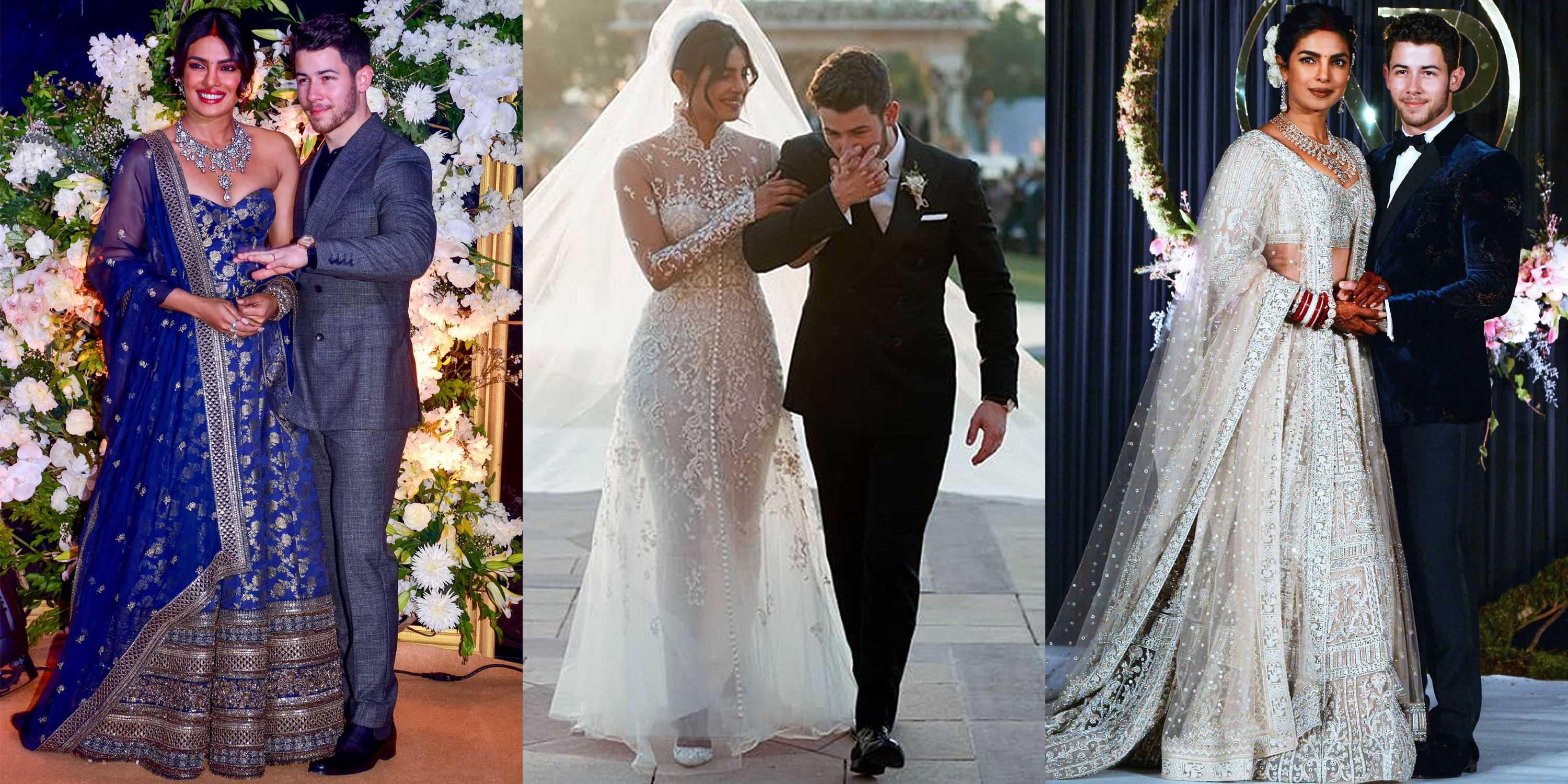 Every Wedding Outfit Priyanka Chopra Has Worn So Far