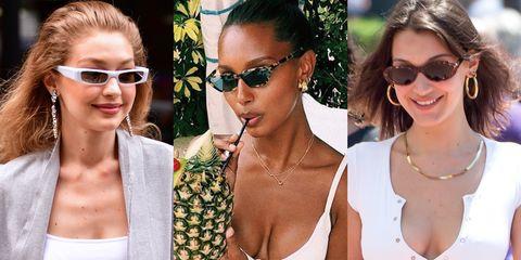 Eyewear, Sunglasses, Hair, Glasses, Hairstyle, Vision care, aviator sunglass, Lip, Blond, Cool,
