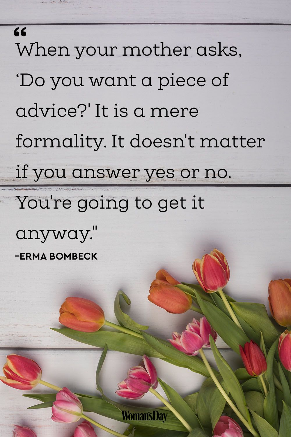 Mothers Day Poems and Quotes - Erma Bombeck