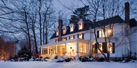 outdoor christmas decor - Winter Wonderland Christmas Decorating Ideas