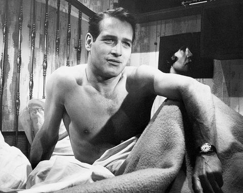 Paul Newman in Bed