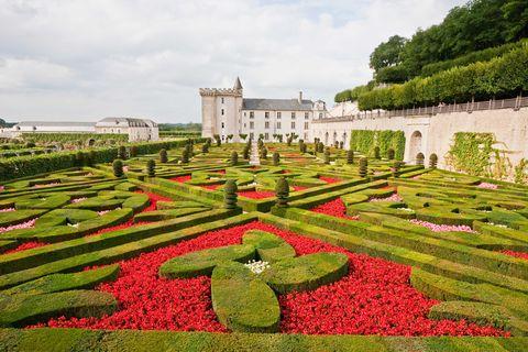 Jardín Chateau de Villandry. Francia.