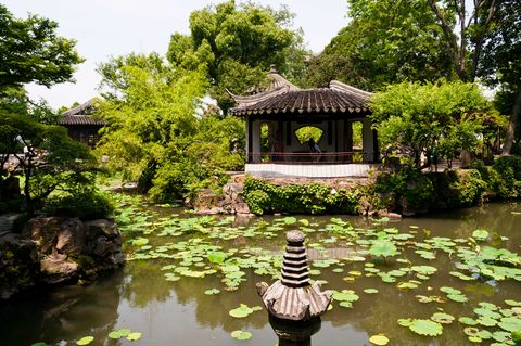 Jardines del Administrador Humilde. China.