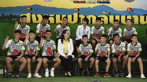 rescued thai cave soccer team boys