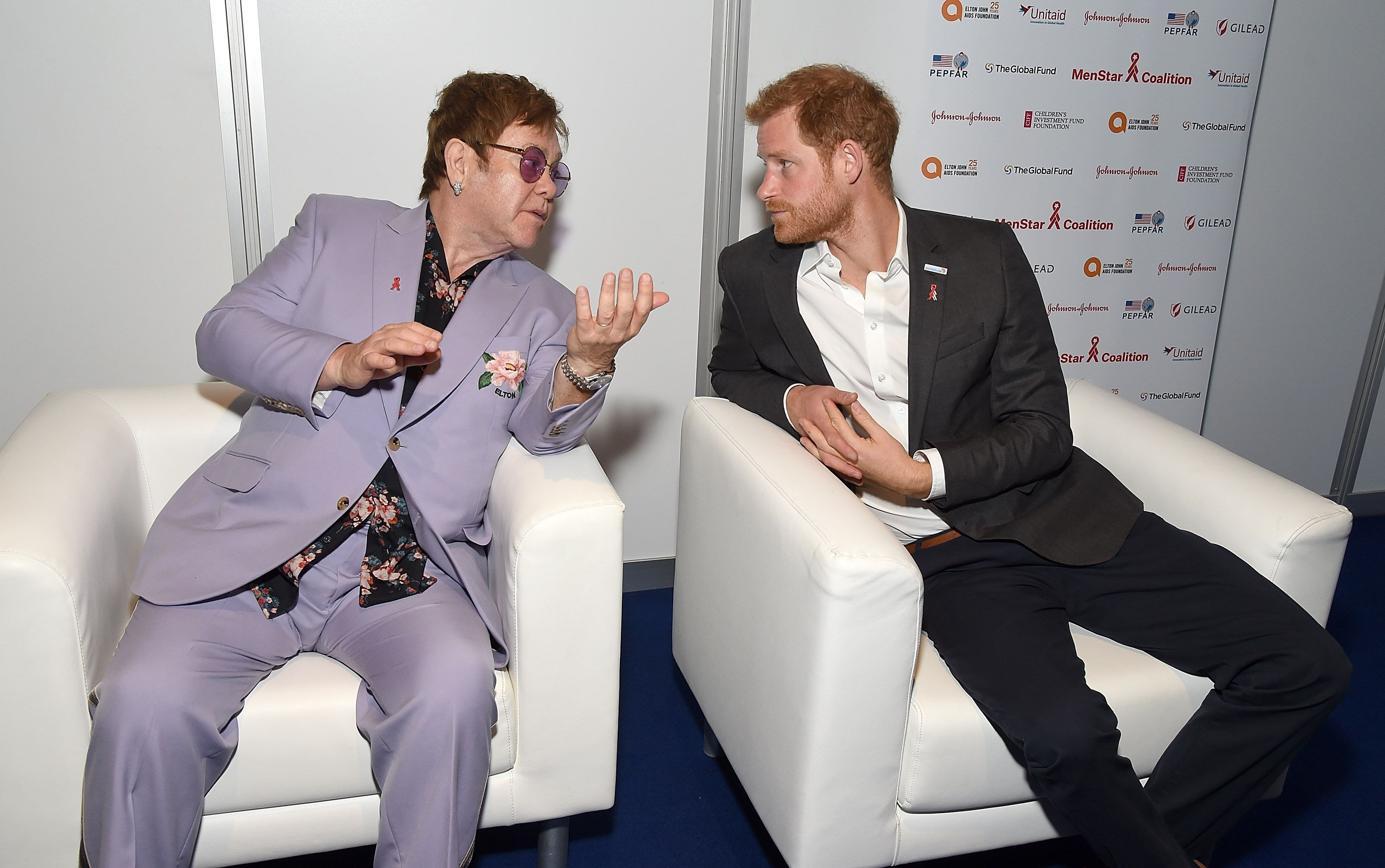 Sir Elton John Passionately Defends Meghan Markle And Prince Harry Over Private Jet Row