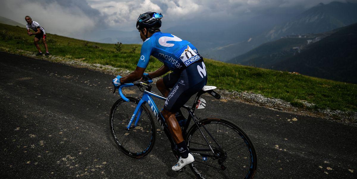 Nairo Quintana Winning Bike Stage 17 - Tour de France 2018