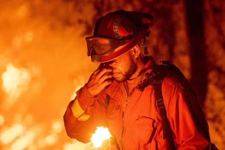 carr fire firefighter northern california