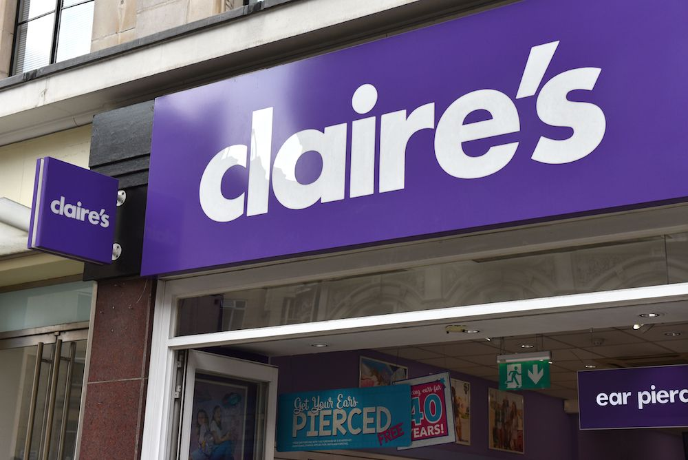 Claire's Is Recalling Their Makeup Because of an Asbestos Contamination