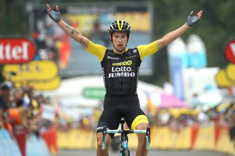 Bianchi And Primoz Roglic Conquer The Final Mountains Of The 2018 Tour De France