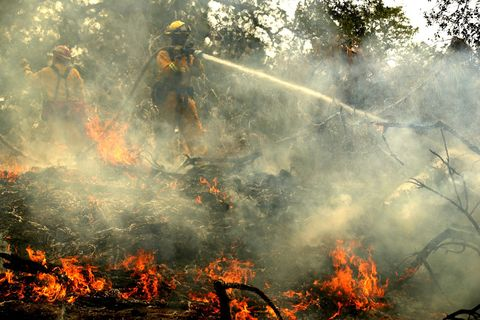 carr fire firefighters