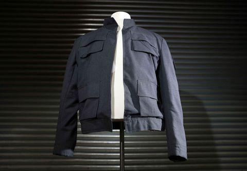 Clothing, Outerwear, Jacket, Sleeve, Clothes hanger, Collar, Top, Blazer, Sportswear, Coat,