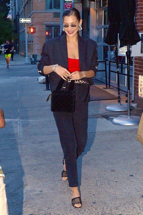 歐美女星, 穿搭, 街拍, 西裝外套
