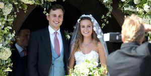 Daisy Jenks and Charlie van Straubenzee wedding pictures