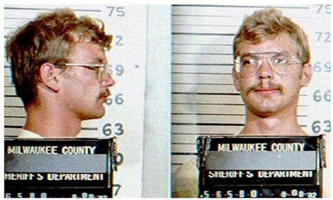 Jeffrey Dahmer Mughsot en agosto de 1982 Foto de la Oficina de Prisiones de Getty Images