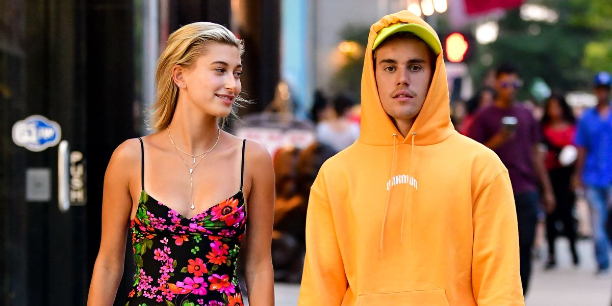 a3d26ed72642 Justin Bieber Spotted Wearing Hoodie on 90-Degree NYC Day with Hailey  Baldwin
