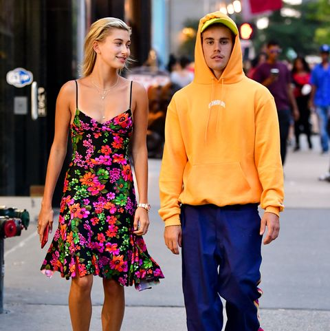 Hailey and Justin Bieber - New York