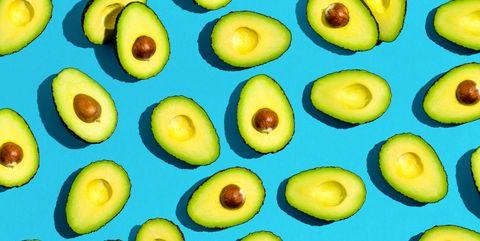 Fresh avocado pattern