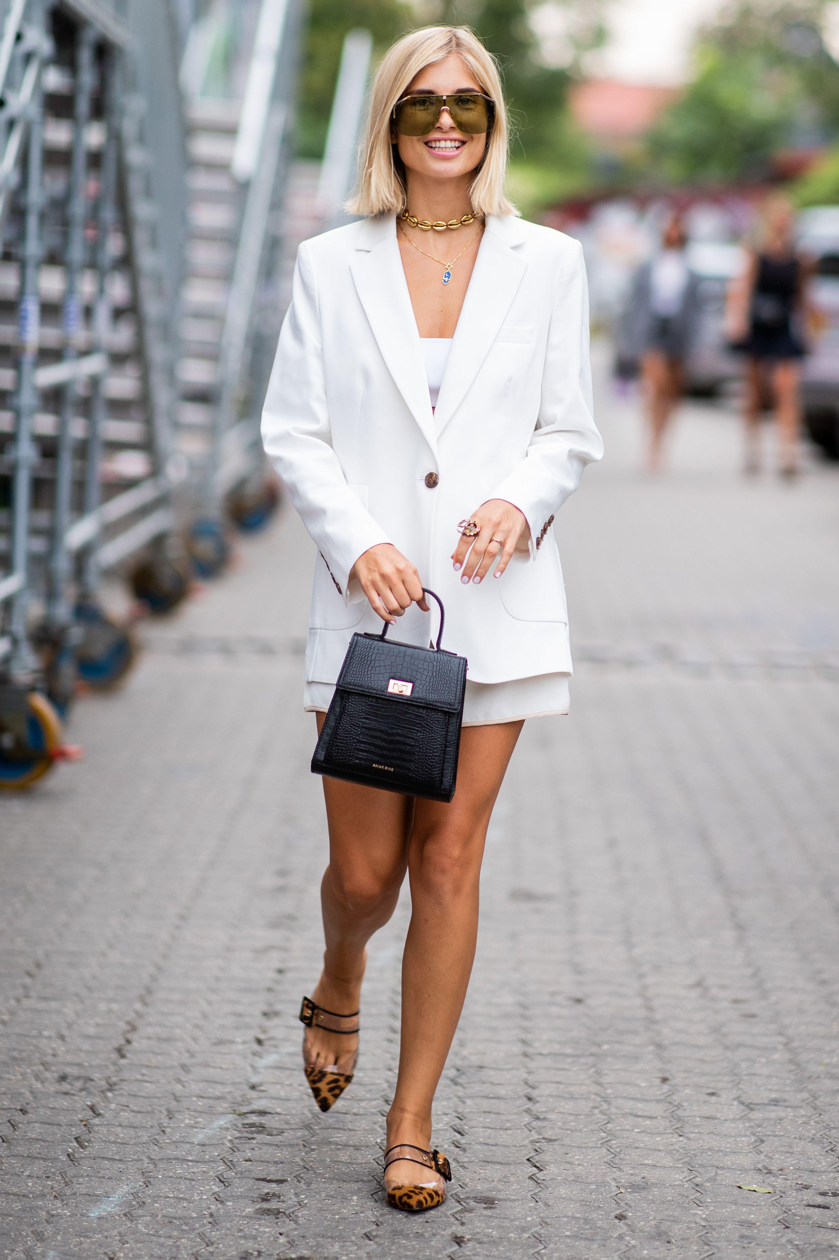Cecilie Bahnsen, Copenhagen Fashion Week, Ellery, Ganni, Moschino, Net-A-Porter, Rejina Pyo, Rosie Assoulin, The Volon, Ulla Johnson, 哥本哈根時裝秀, 洋裝, 街拍, 黑白