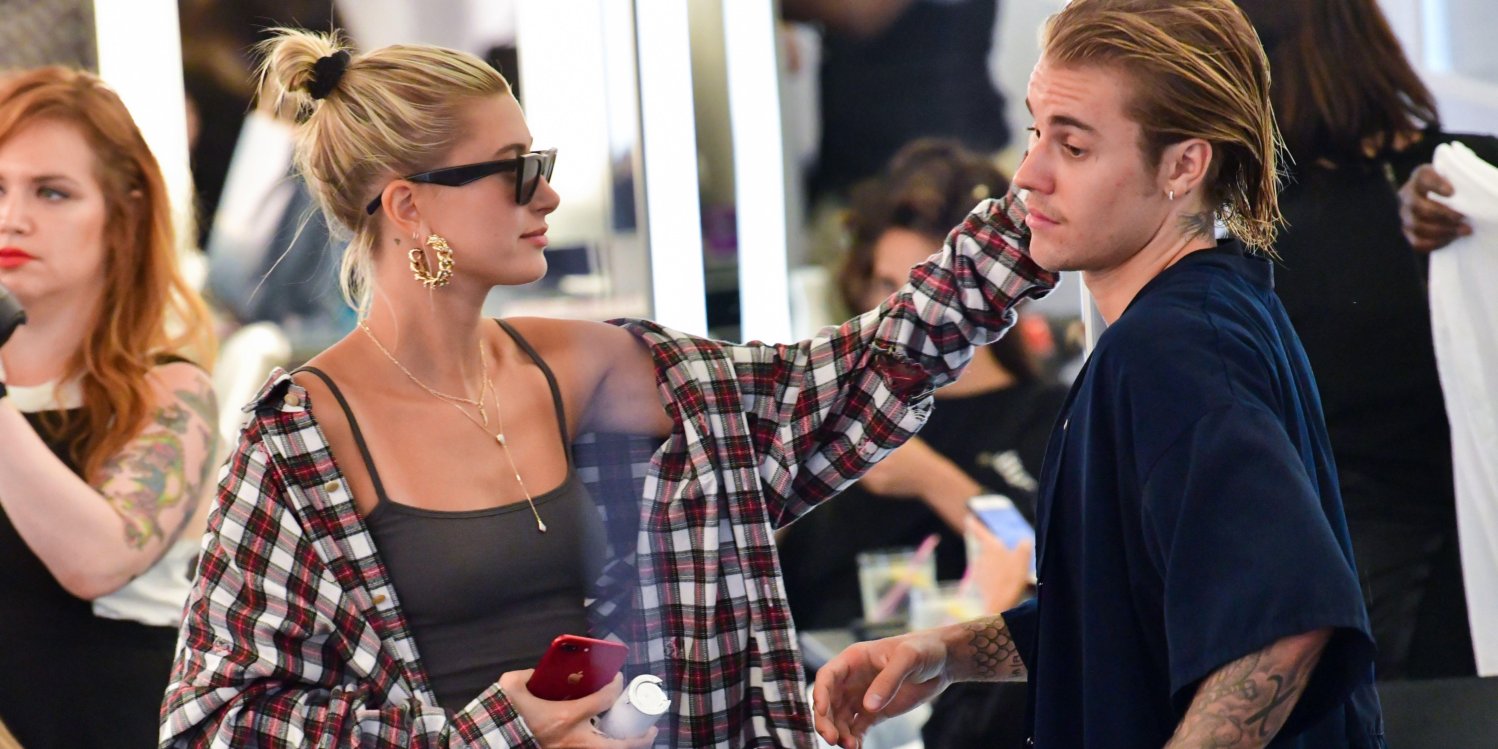 Justin Bieber Succumbs And Gets Haircut With Hailey Baldwin