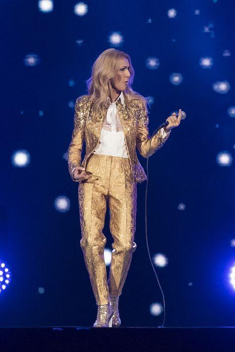 Celine Dion Performs In Melbourne