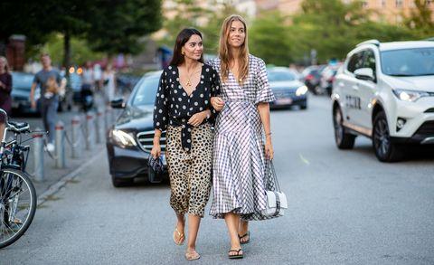 哥本哈根時裝週, 夾腳拖鞋, 街拍穿搭, 時裝週街拍