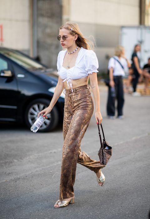 come abbinare il leopardato, moda stampe animalier, stile animalier 2018