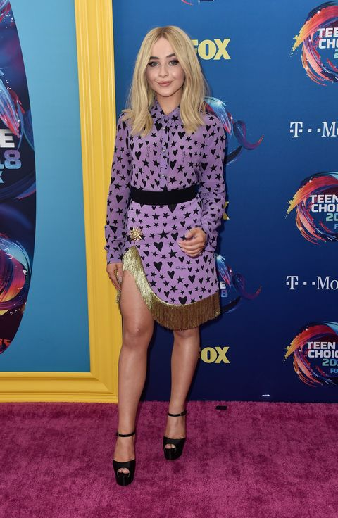 b24830aaf8d All the Teen Choice Awards Red Carpet Dresses - Every Teen Choice ...