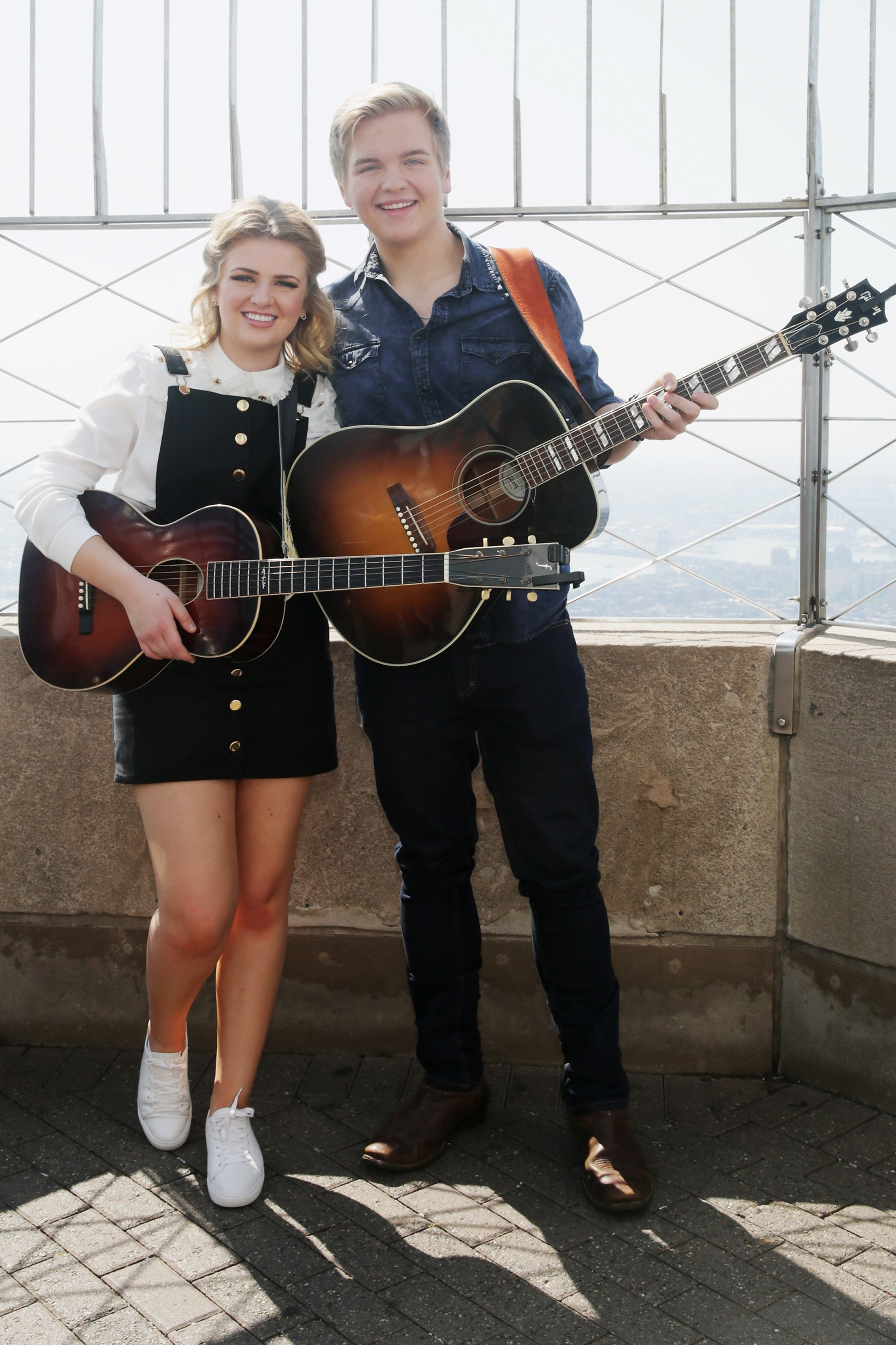 """Maddie Poppe and Caleb Lee Hutchinson met when they were competing on """"American Idol."""""""