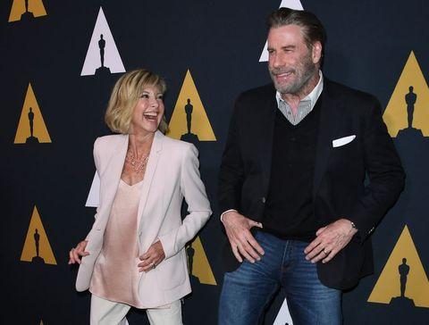 John Travolta Y Olivia Newton John Vuelven A Ser Danny Zuko Y Sandy